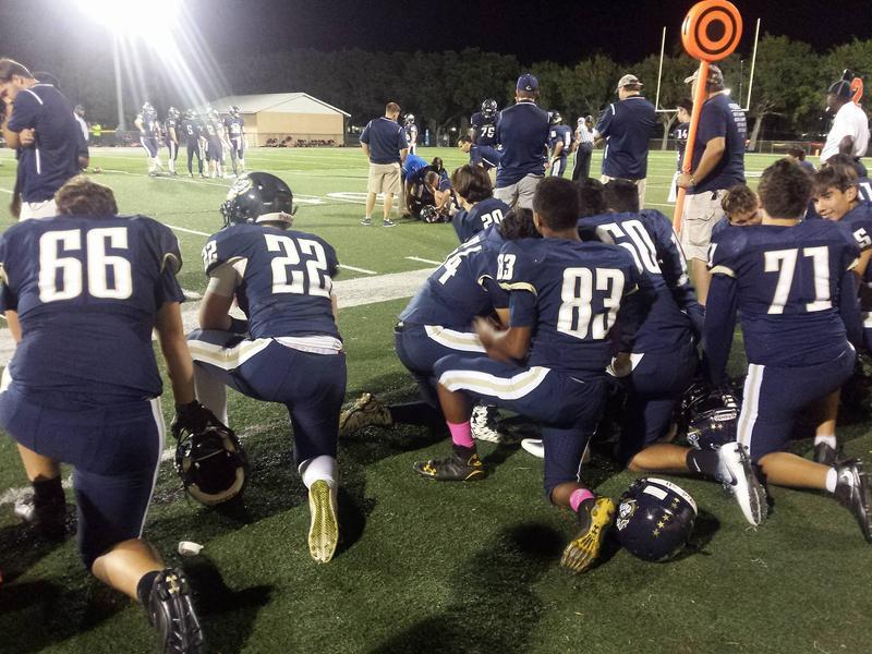 The case stems from the Division 2A football championship game in 2015.