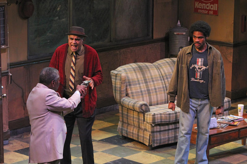 "August Wilson's ""Jitney"" played American Stage in 2016. The play is also currently running on Broadway."