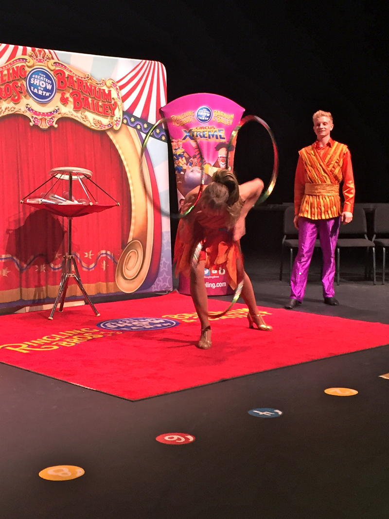 Juggler Victoria Zsilak says the final tour is a bittersweet time, but says performers are giving 110% for the crowds. As for the future, she's pragmatic. She and her son plan to find work with another circus or entertainment company.