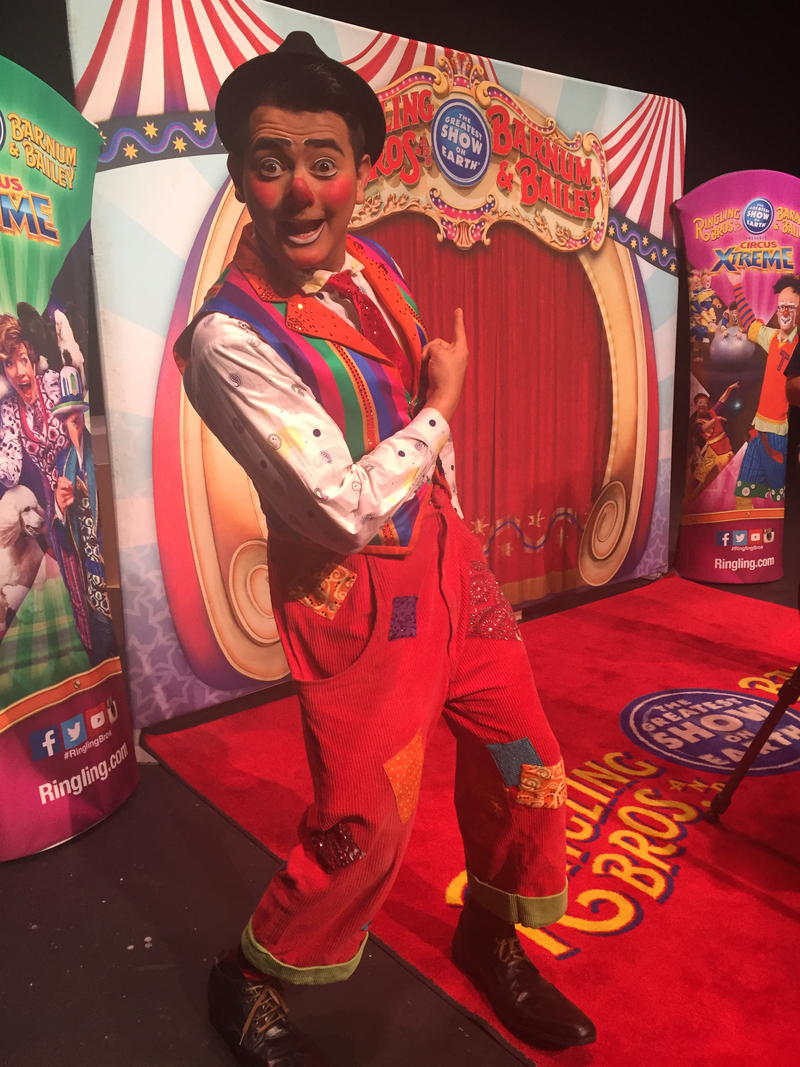 Ivan Skinfill has dreamed of being a Ringling clown since he was 18 living in Mexico. He thinks he'll try working in another country after Ringling closes - anywhere he can make somebody smile.