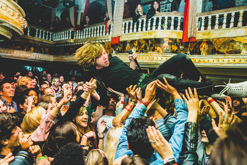 Grammy winners Cage The Elephant headline the Gasparilla Music Festival in Tampa on Saturday.