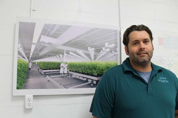 Darrin Potter is Chief Horticultural Officer for GrowHealthy in Lake Wales, which was recently awarded the seventh lisence to cultivate medical marijuana in Florida.