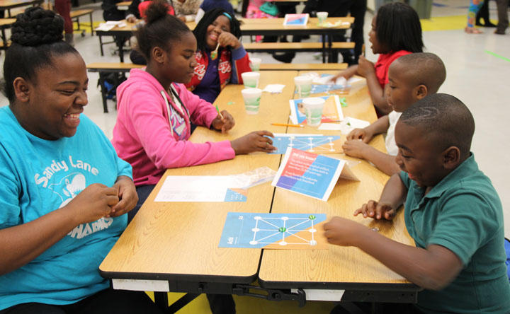 Family game night was recently held at five Pinellas County elementary schools