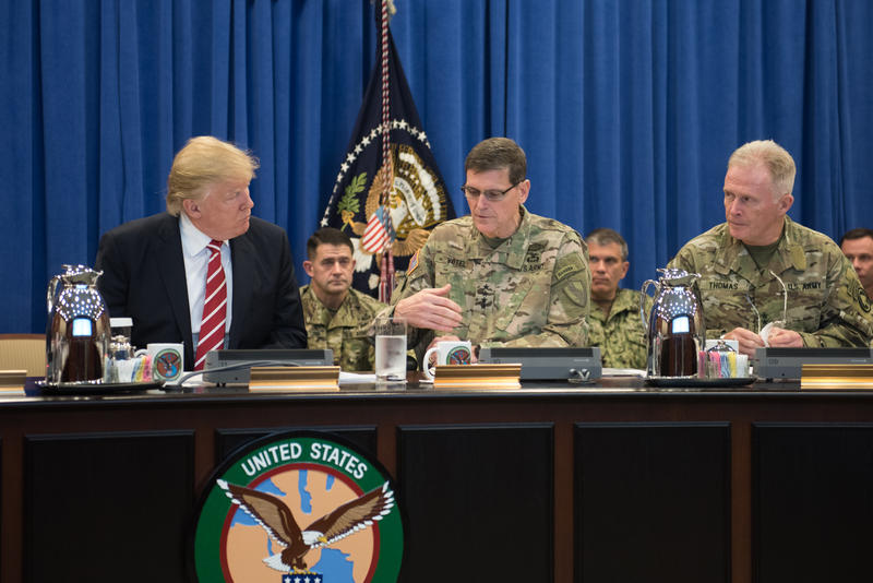 President Donald Trump made his first visit to MacDill Air Force Base on Feb. 6, 2017