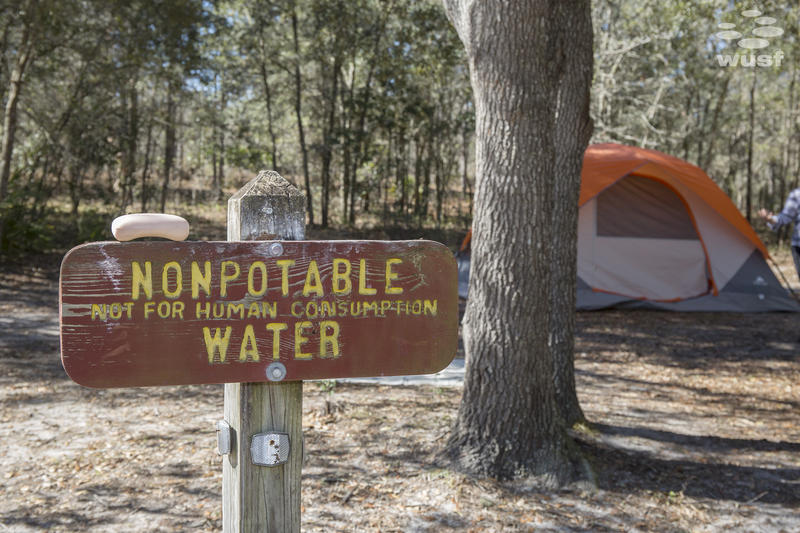 "The ""Seven Fires Council"" is a water protector camp set up in the Goethe State Forest. Activists use the camp as a way to connect with other water protectors."
