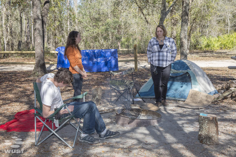 The water camp, inspired by the Standing Rock camp in North Dakota, lets activists stay close to the pipeline for protests, and to report pipeline worker violations.