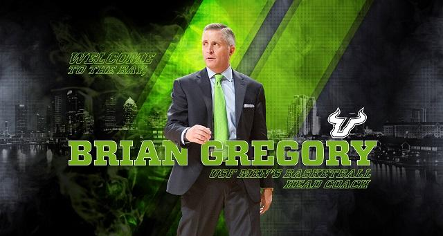 Brian Gregory was named head coach of the USF men's basketball team Tuesday.