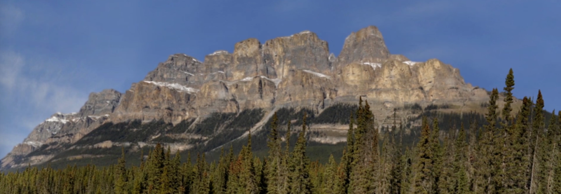 "An image from ""Castle Mountain,"" one of the pieces in Jack Wilkins' ""Banff Project."""