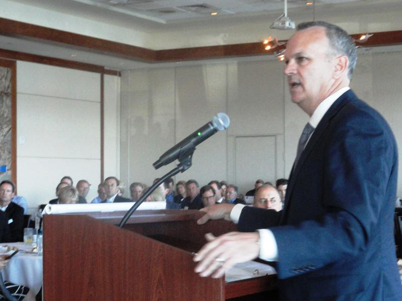 House Speaker Richard Corcoran at a recent meeting at the Sarasota Yacht Club