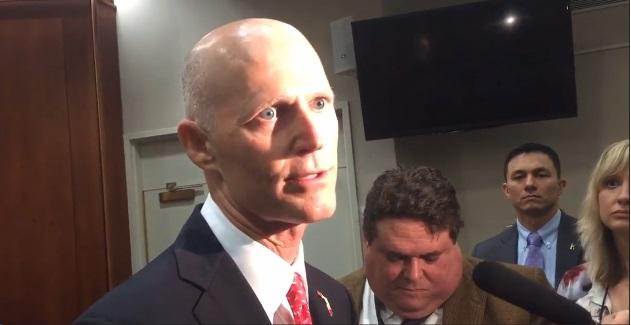Gov. Scott talks Enterprise Florida in Tallahassee
