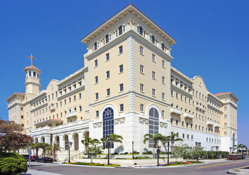 The Flag Service Organization in Clearwater is the worldwide spiritual headquarters for Scientologists.