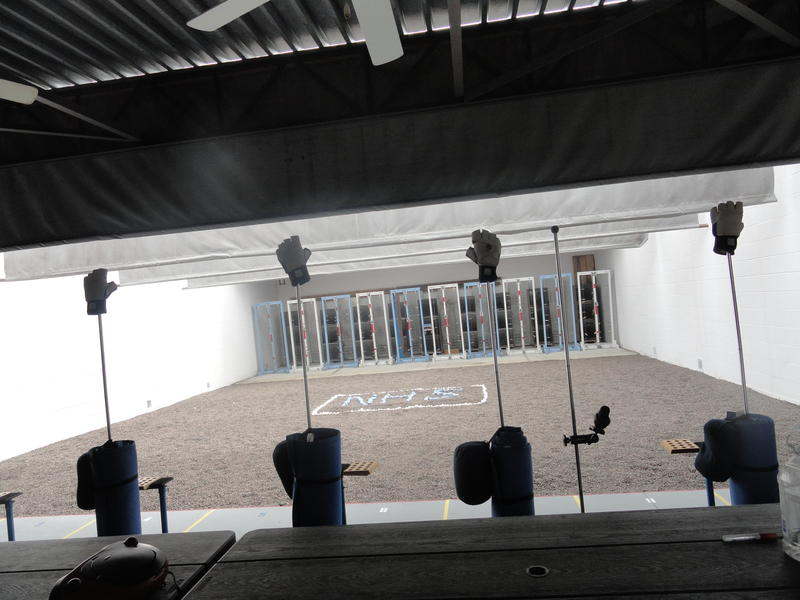 Newsome High has a rifle range for the JROTC to practice marksmanship.