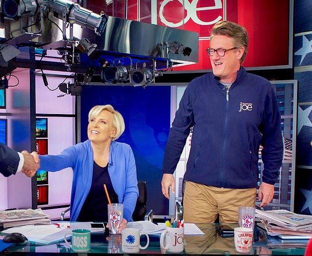 The cast of Morning Joe