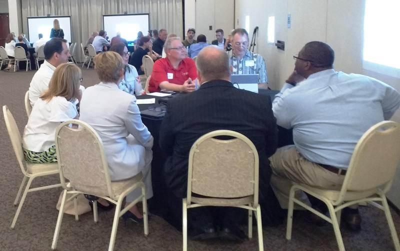 Breakout sessions are held at the Bryan Glazer JCC