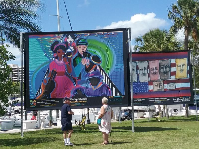 "The ""Embracing Our Differences"" exhibit is an annual outdoor art show in Sarasota."