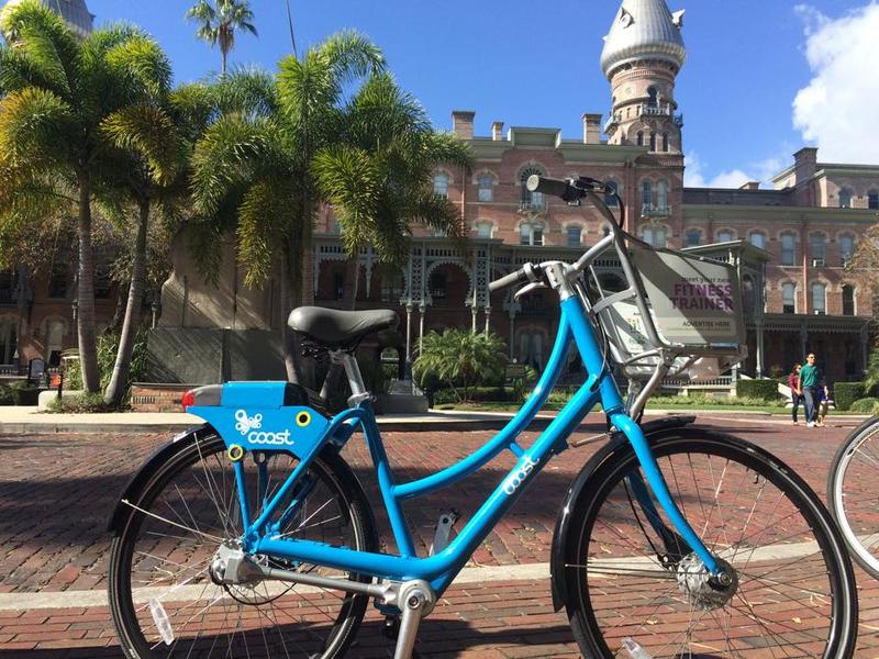 History Bike Tampa offers a bimonthly tour featuring  a specific time period, theme, or geographic location.
