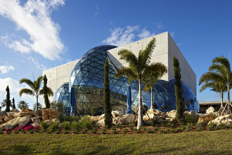 The Salvador Dalí Museum houses the largest collection of the artist's works outside of Europe.