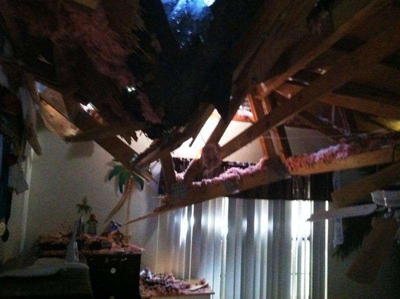 Inside of the Stewart home in Bartow