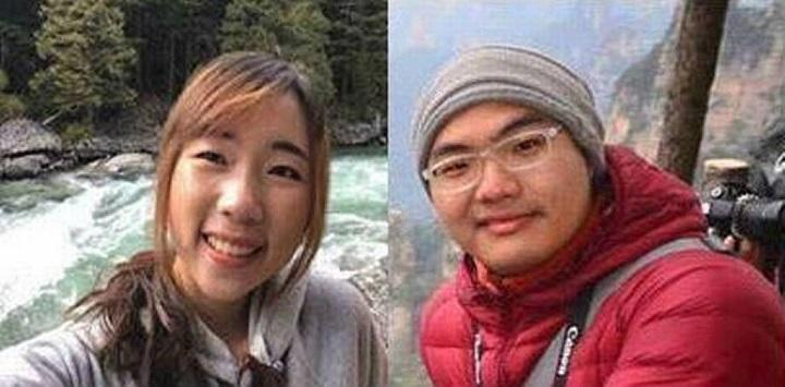 The bodies of USF students, Thiwadee Saengsuriyarit (left) and Bhakapon Chairattanasongporn are belived to still be in a vehicle stuck in the King River, near Fresno, CA.