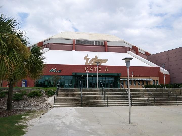 The USF Sun Dome continues to serve as a special needs emergency shelter for Irma evacuees, housing about a dozen people as of 2 p.m. Thursday. More than 10,000 people remain in 118 evacuation shelters across Florida.