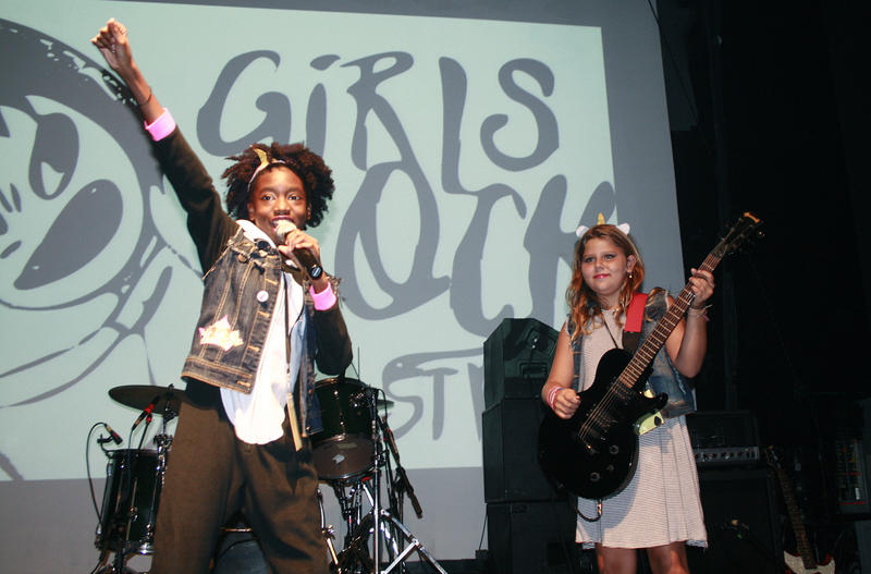 Girls Rock Camp St. Pete is a volunteer based camp that uses music as a medium to help young women find self confidence, creativity,  and sense of community.