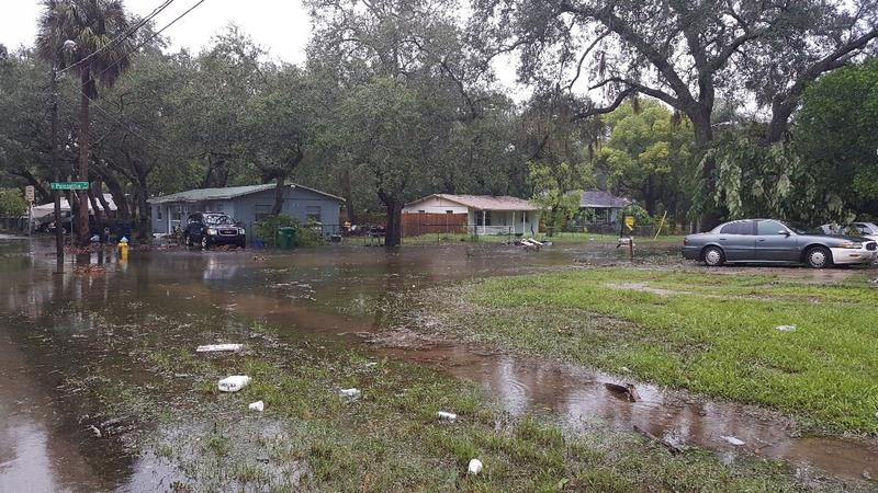 Flooding in Tampa