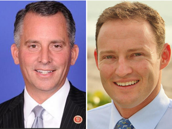 David Jolly, left, and Patrick Murphy, right.