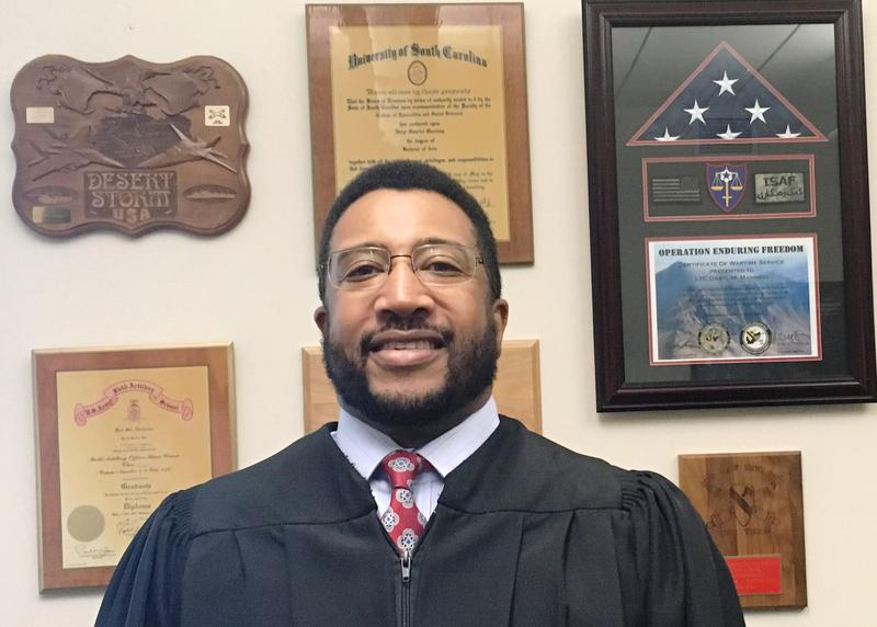 Hillsborough County Judge Daryl Manning served 30 years in the U.S. Army.