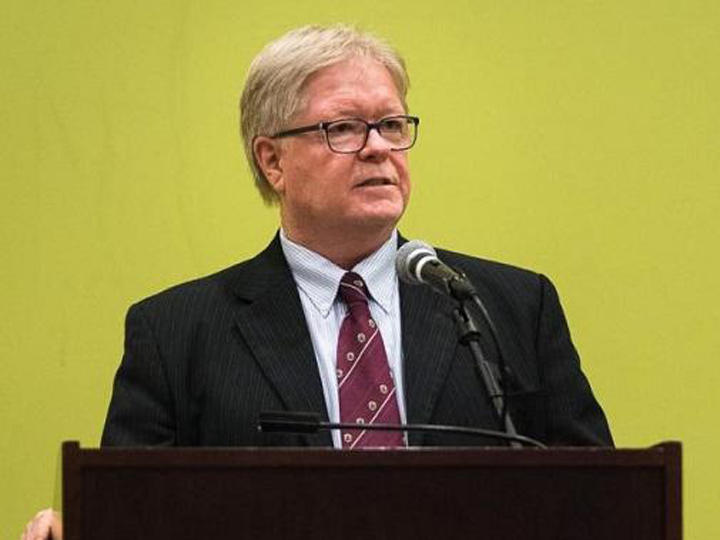 USF St. Petersburg interim Regional Chancellor Martin Tadlock