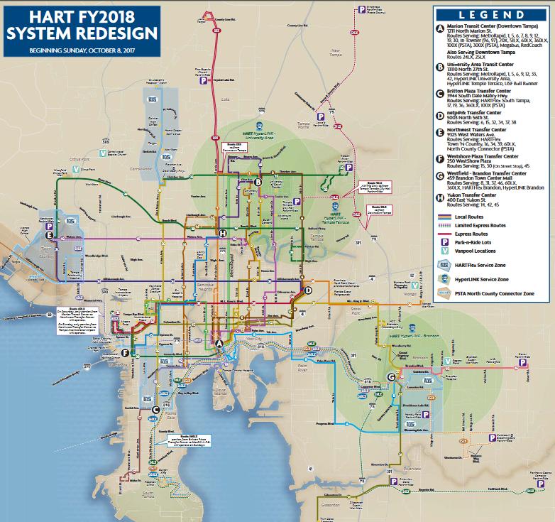 Hillsborough Bus Routes Get Major Makeover WUSF News