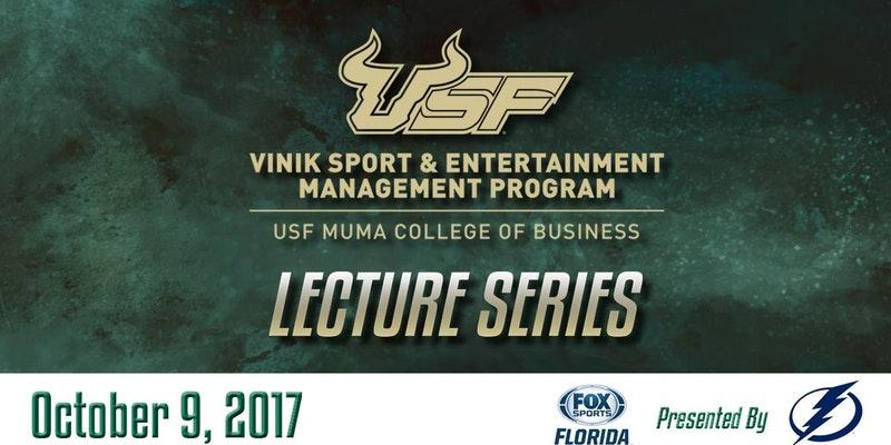 On Monday, October 9th, a free lecture event brings some major names from the sports industry to the USF Sun Dome.