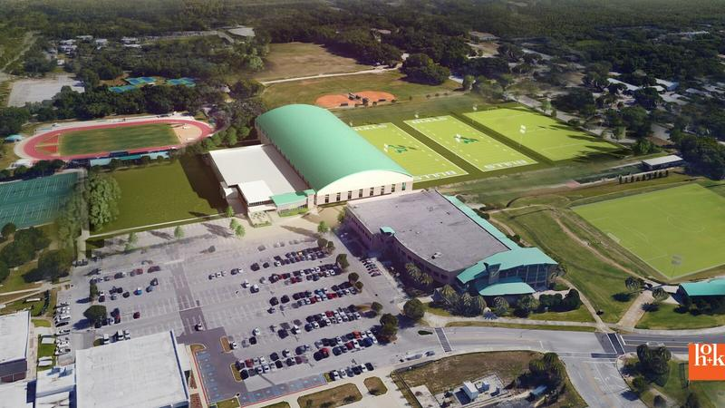 Artist's rendering of the proposed facility