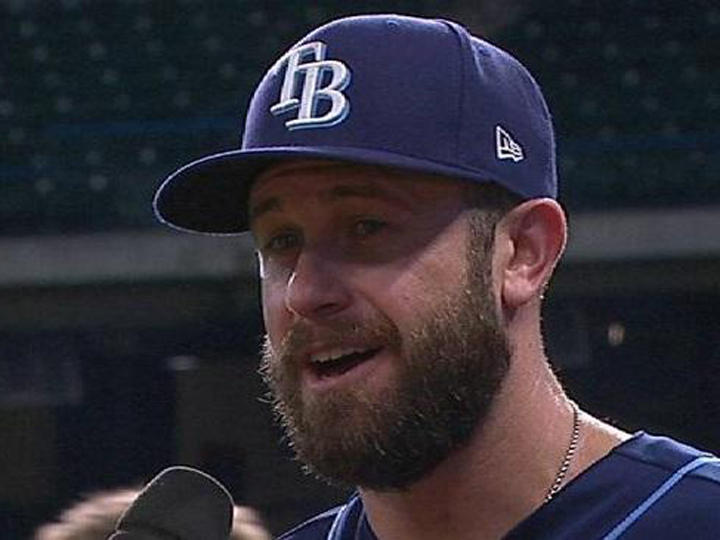 Evan Longoria, who showed up with a new, bearded look for the 2017 season, will join a new team in 2018 after the Tampa Bay Rays traded him to the San Francisco Giants.