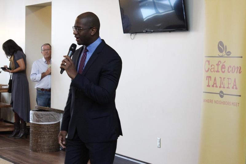 Tallahassee Mayor Andrew Gillum faces Gwen Graham, Chris King and Phillip Levine for the Democratic  gubernatorial nomination.