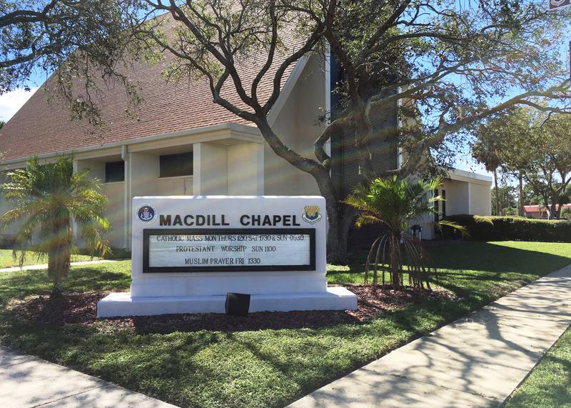 The MacDill Air Force Base chapel.