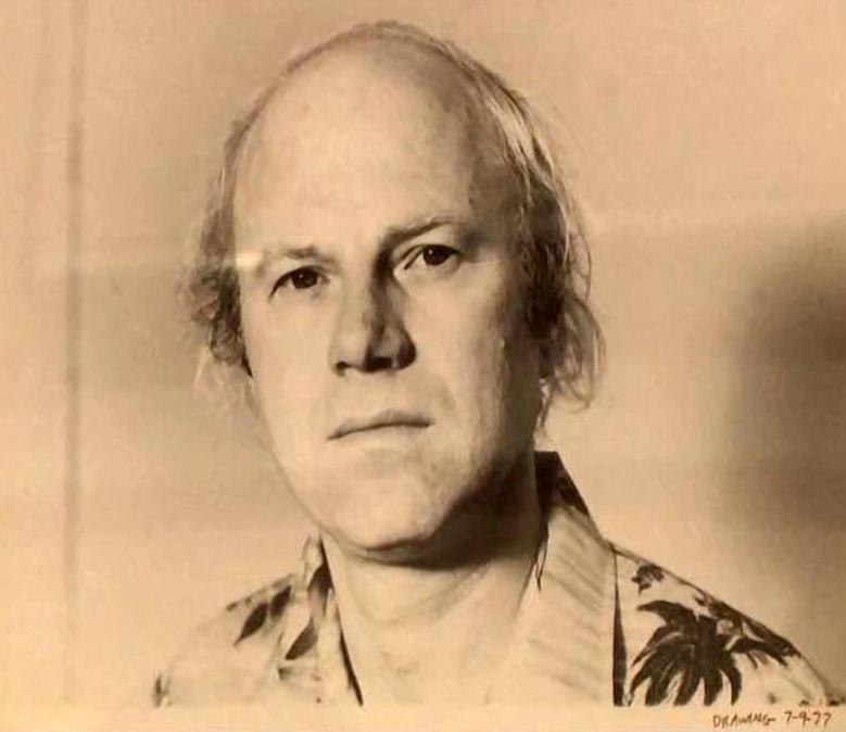 A self portrait, by artist James Rosenquist