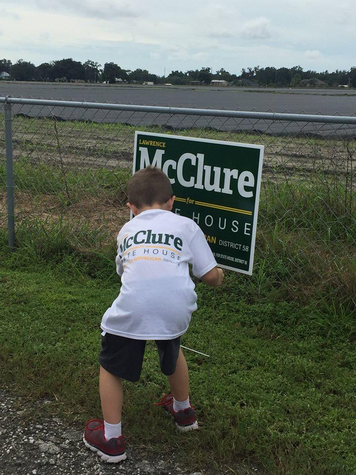 Lawrence McClure won Tuesday's special election for House District 58.