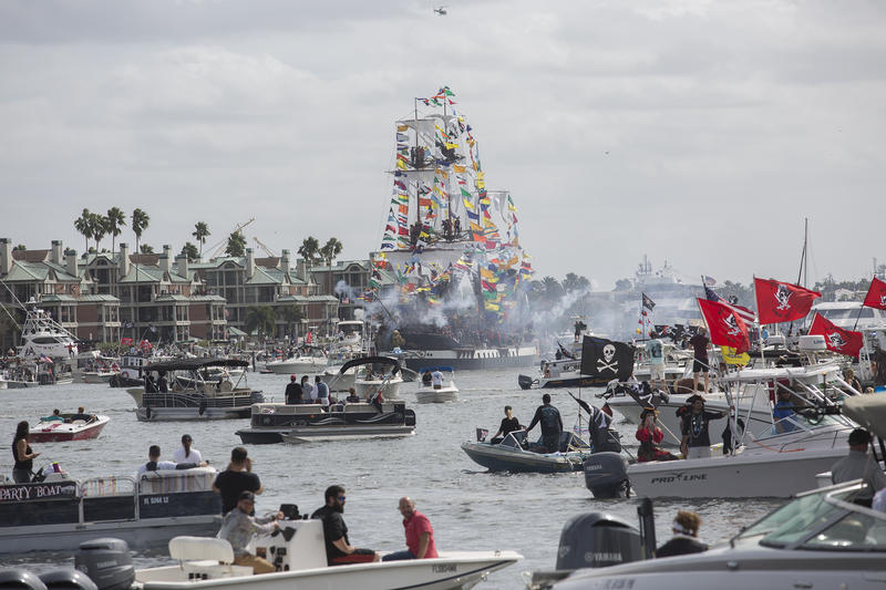 Last year about 1,500 boats joined in on the invasion.