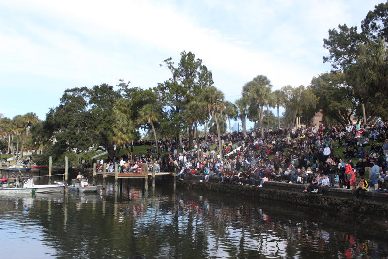 An estimated 15,000 people attended the Epiphany event.