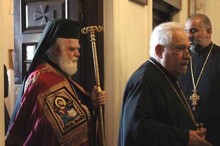Metropolitan Alexios (Panagiotopoulos) of Atlanta oversaw this year's Epiphany ceremony in Tarpon Springs.