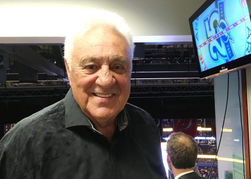 Lightning founder Phil Esposito provides color commentary on Lightning radio broadcasts.