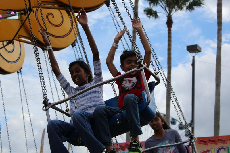 Hillsborough County School Day at the Florida State Fairgrounds on Friday, Feb. 9.