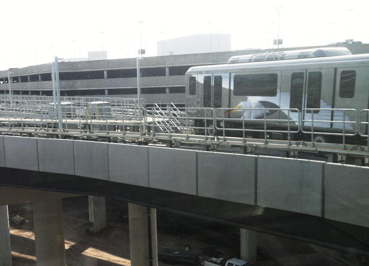 The SkyConnect Rail Link is now open at Tampa International Airport.