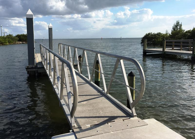 The MacDill AFB marina offers boat storage as well as direct access to the rich fishing waters of Tampa Bay.