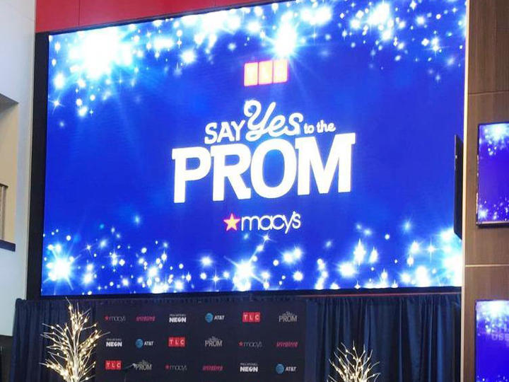 """""""Say Yes to the Prom"""" event at Raymond James Stadium in Tampa."""