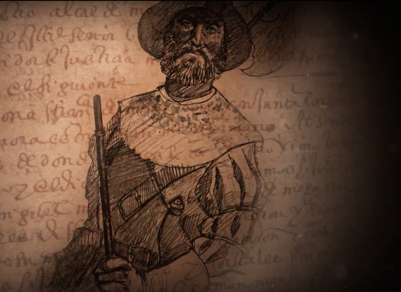 Miguel Mora, an 16th century Spanish expolorer, shipwrecked and was taken captive by indians in what is now present day Miami. He and several others spent 10 months in captivity. Mora's story and others are told in La Florida, an interative website.