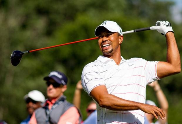 Tiger Woods shot 70 at Innisbrook on Thursday.