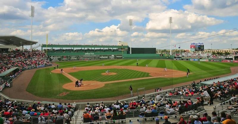 JetBlue Park in Fort Myers is the spring training home for the Boston Red Sox.