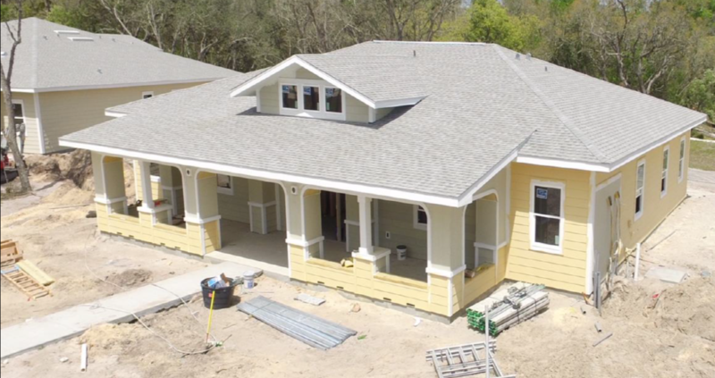 The safe campus houses, as of April 2018, are nearly completion.
