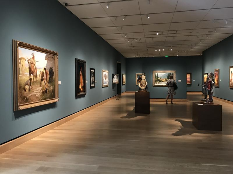 The museum features over 400 pieces from the James' private collection. Private museum owners are free to choose what goes in their museum and how it's displayed, without worrying about the approval of an existing board of trustees.